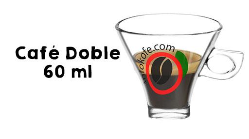 Café espresso doble, Café doble