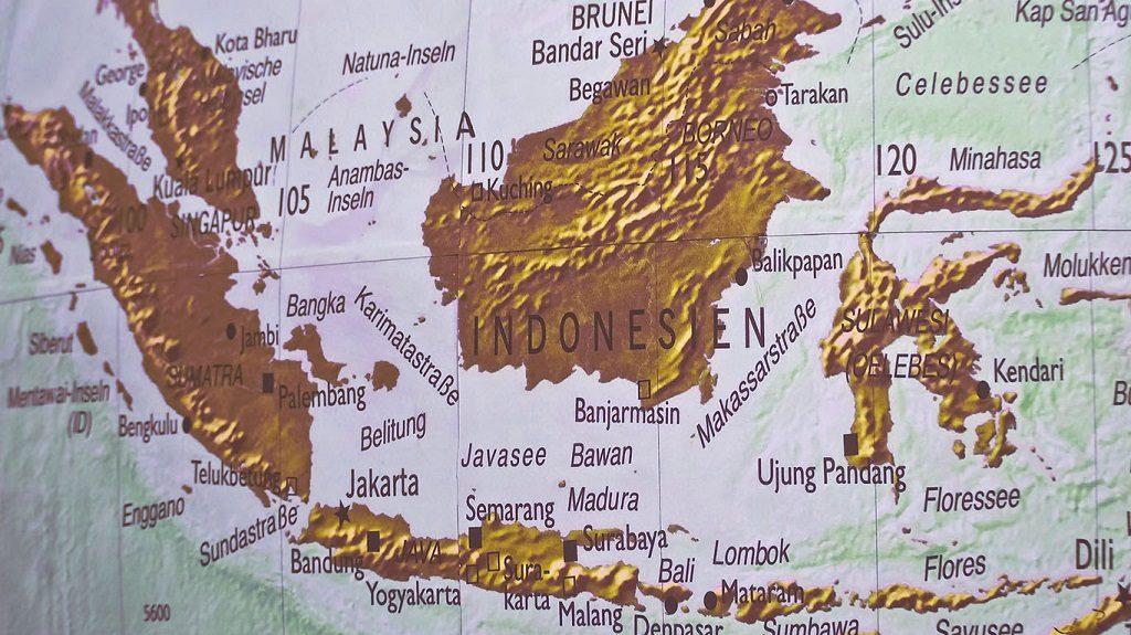 expansión del café por Asia