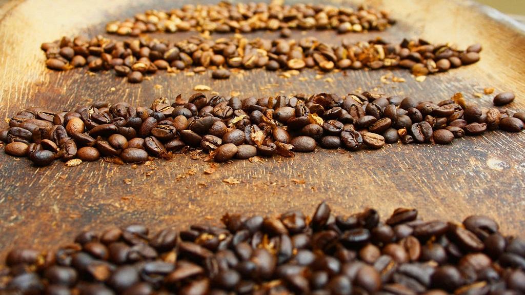 Café tostado, café tostado natural, Tipos de tostado de café