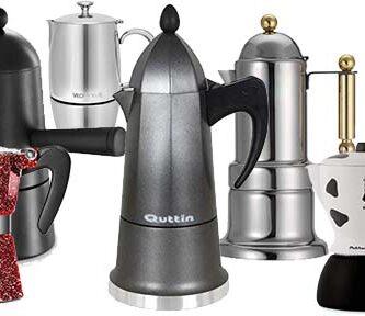 Cafetera Italiana de Diseño, Cafeteras Italianas de Diseño