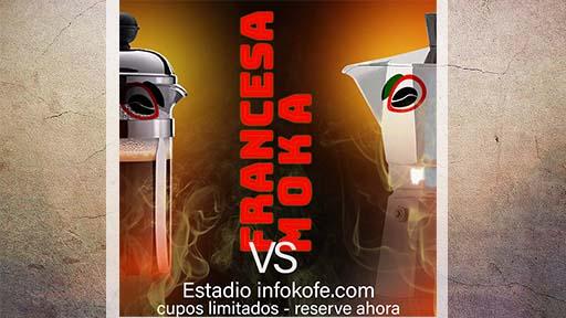 cafetera italiana vs cafetera francesa, cafetera moka vs cafetera francesa, cafetera italiana vs cafetera émbolo, cafetera moka vs cafetera émbolo, moka vs francesa